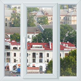 Трехстворчатое окно в Севастополе