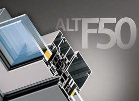 Фасадная алюминиевая система alf f50 в Севастополе
