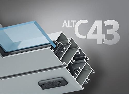 Система алюминиевых окон ALT-43 в Севастополе